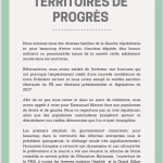 Manifeste Territoire de Progrès page 1