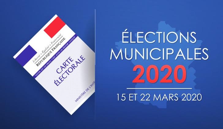Bannière Élections municipales 2020